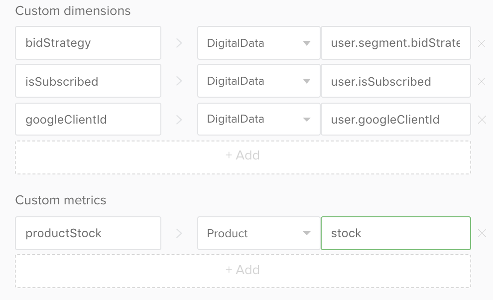 SegmentStream documentation : Google BigQuery